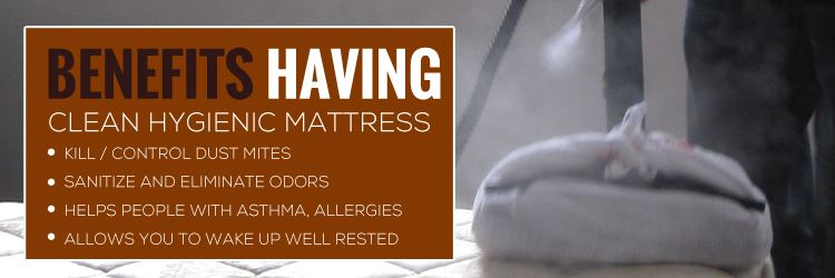 Mattress Steam Cleaning Mount White
