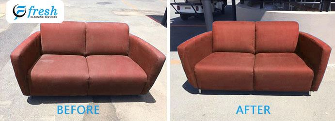 Upholstery Cleaning Before and After Gilston