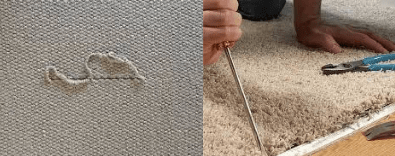 Fraying Carpet Seams Repair Sydney
