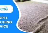 Carpet Stretching Service