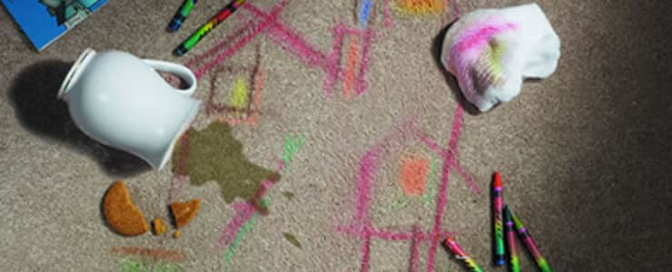Crayon Removal Service From Carpet