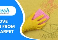 Remove Crayon from your Carpet